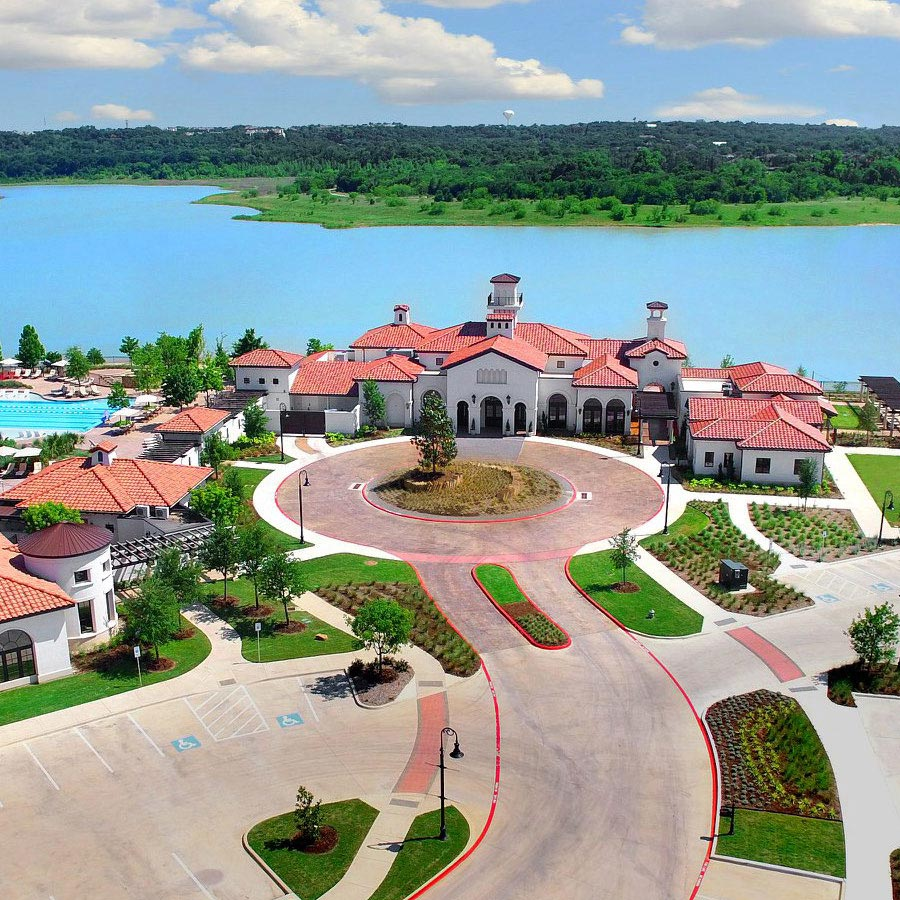 Aerial View - Lakeview Event and Conference Center